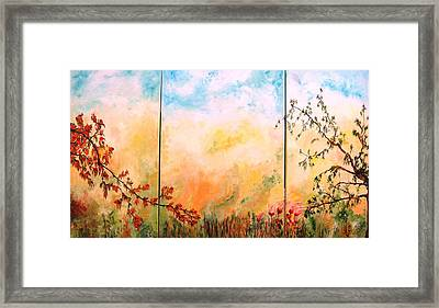 La Primavera 1 Framed Print