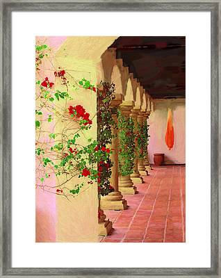 La Quinta Peristyle Framed Print by Viktor Savchenko