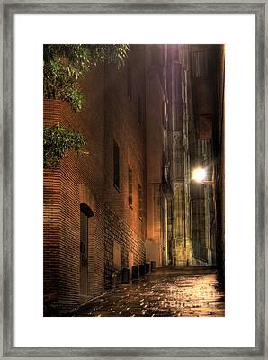 Framed Print featuring the photograph La Rambla by Erhan OZBIYIK