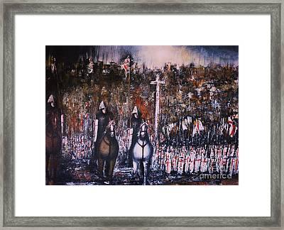 La Reconquista Framed Print
