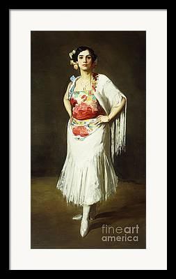 Reina Mora Framed Prints
