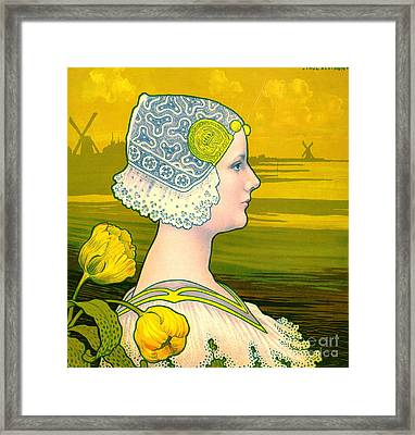 La Reine Wilhelmina 1901 Framed Print by Padre Art