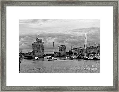 Framed Print featuring the photograph La Rochelle by Cendrine Marrouat