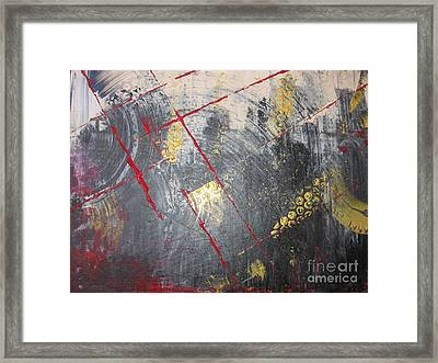 Framed Print featuring the painting La Ruche by Lucy Matta