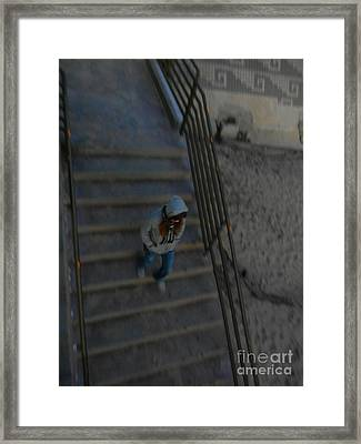La Rush Framed Print by KD Johnson
