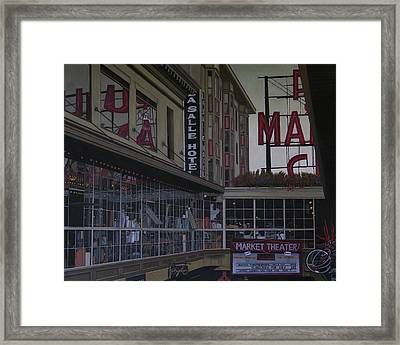 La Salle Hotel Framed Print by Thu Nguyen