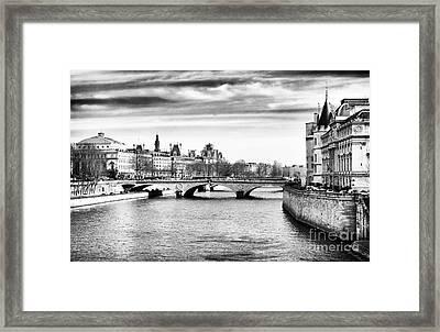 La Seine Framed Print by John Rizzuto