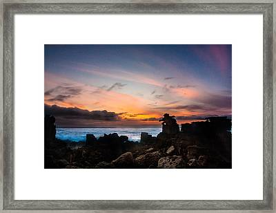 Framed Print featuring the photograph La Siesta by Edgar Laureano