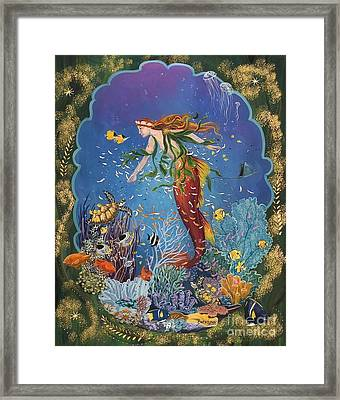 La Sirena Framed Print