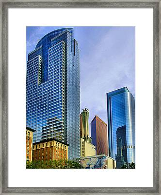 Framed Print featuring the photograph La Skyline by Joseph Hollingsworth