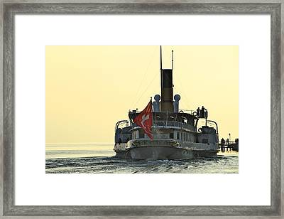 La Suisse Framed Print by Colleen Williams