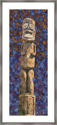 La Tiki Framed Print