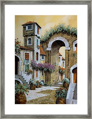 La Torre Framed Print by Guido Borelli