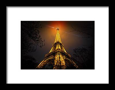 Paris Night Framed Prints