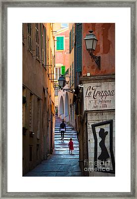 La Trappa Framed Print by Inge Johnsson