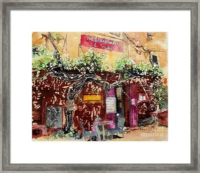 La Trelle Framed Print