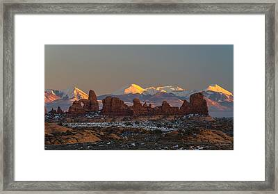 La Turret Framed Print by Dustin  LeFevre