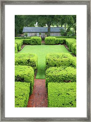 La, Vacherie, Oak Alley Plantation Framed Print by Jamie and Judy Wild