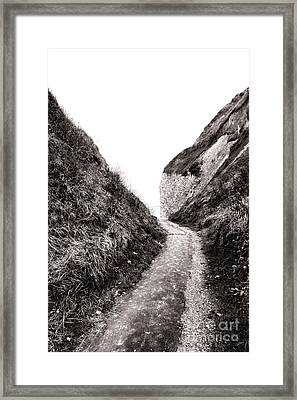 La Valleuse Framed Print