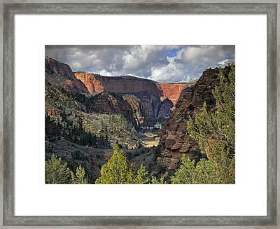 La Verkin Creek Framed Print by Leland D Howard