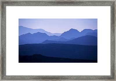 La Verkin Overlook Framed Print