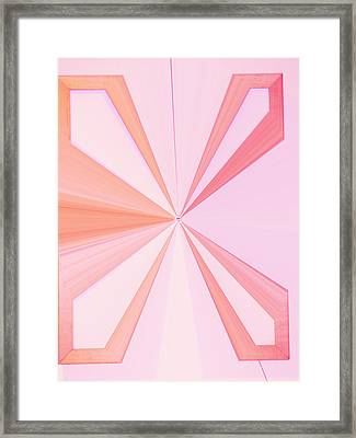 La Vie En Rose 11   3.23.14 Framed Print