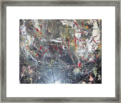 Framed Print featuring the painting La Vie by Lucy Matta