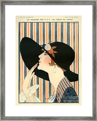 La Vie Parisienne 1918 1910s France G Framed Print