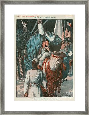 La Vie Parisienne 1920s France Weddings Framed Print by The Advertising Archives