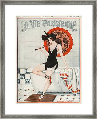 La Vie Parisienne  1923 1920s France Framed Print