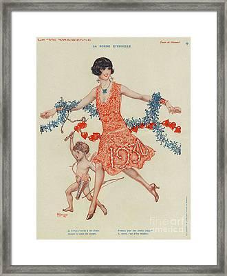 La Vie Parisienne 1930 1930s France Framed Print