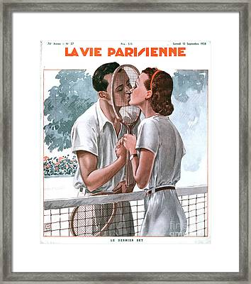 La Vie Parisienne 1938 1930s France Framed Print by The Advertising Archives