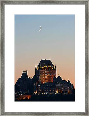 La Vieille Capitale Framed Print by Juergen Roth