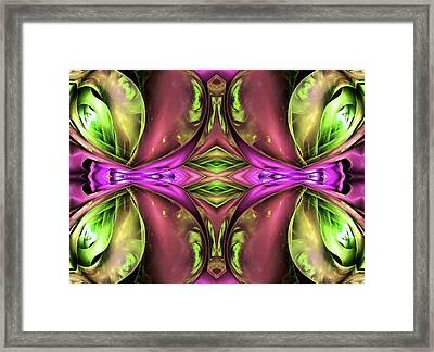 La Vien Rose  Framed Print