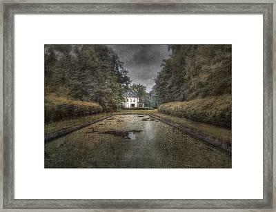 La Villa Abandonnee Framed Print