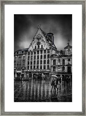 La Voix Du Nord Framed Print by Ian Good