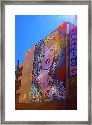 La Woman Framed Print by Viktor Savchenko