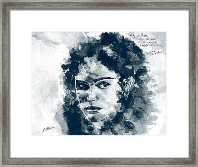 Laban's Daughter Framed Print by Gary Bodnar