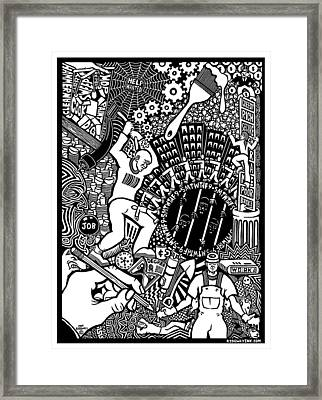 Labor Daze Framed Print by Matthew Ridgway