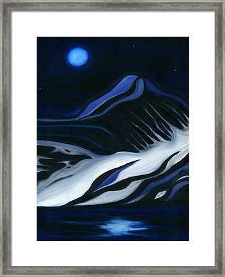 Labrador Blue Mountain Framed Print