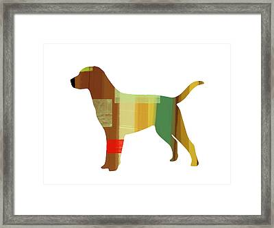 Labrador Retriever Framed Print by Naxart Studio