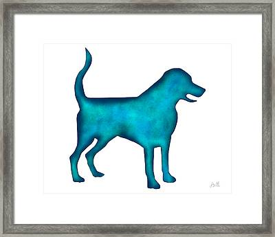 Labrador Retriever Framed Print by Laura Bell