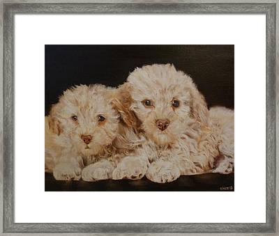 Labradorable Framed Print by Cherise Foster