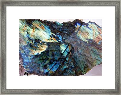 Labradorite Framed Print