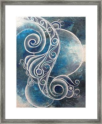 Labradorite Framed Print by Reina Cottier