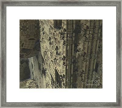 Labyrinth Dimensions 666 Framed Print by R Muirhead Art