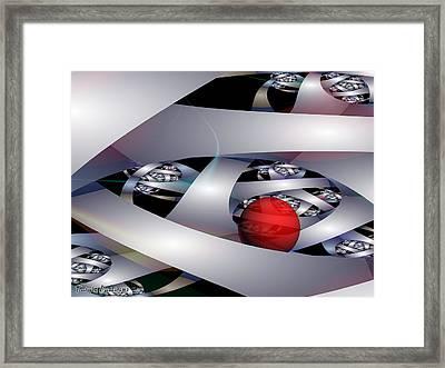 Labyrinth Of The Minotaur. 2013 80/60 Cm.  Framed Print by Tautvydas Davainis