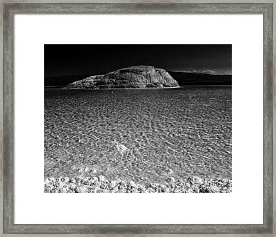 Lac Assal In Djibouti Framed Print by Guillermo Hakim
