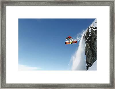 Lac Des Vaux Framed Print