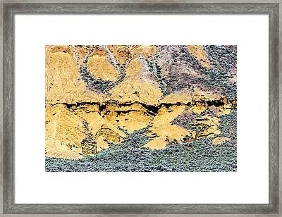 Lac Du Bois Formations Framed Print by Michael Russell